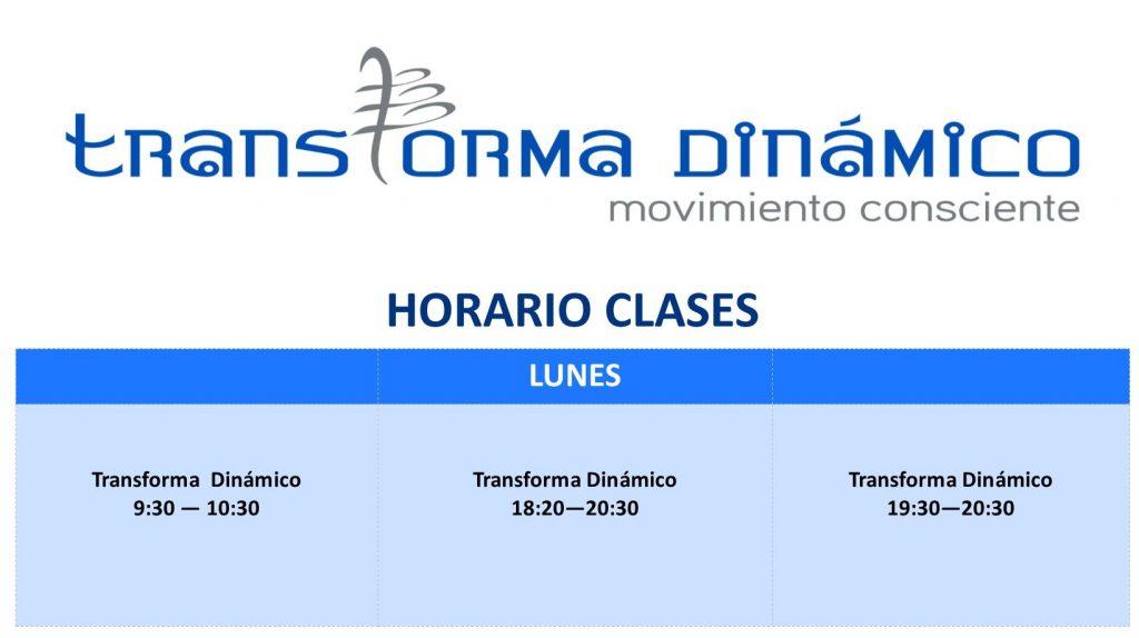 HORARIO WEB - Transforma Dinamico